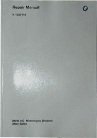 Official 1998-2003 BMW K1200RS FACTORY REPAIR MANUAL CD-ROM