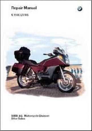 BMW 1993-1997 K1100LT K1100RS Factory Repair Manual CD-ROM