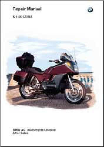 bmw 1993 1997 k1100lt k1100rs repair manual cd rom rh repairmanual com New BMW BMW M5