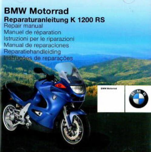 2001 2007 bmw k1200rs factory repair manual cd rom. Black Bedroom Furniture Sets. Home Design Ideas