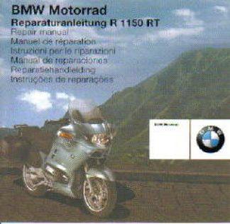 BMW R1150RT Factory Repair Manual CD-ROM