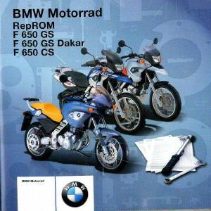 2005 2006 bmw f650gs factory repair manual cd rom