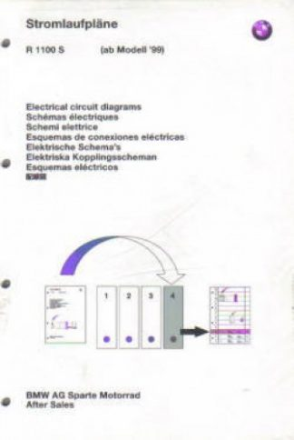 BMW R1100S Factory Electrical Circuit Diagrams