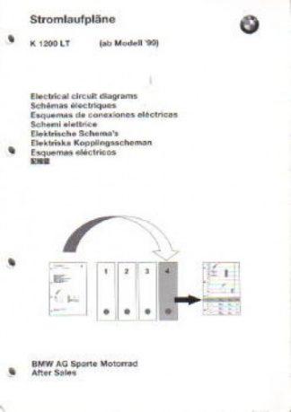 BMW K1200LT Factory Electrical Circuit Diagrams