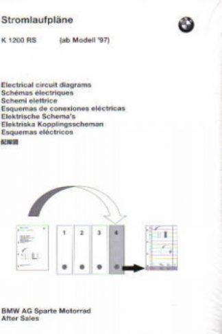 BMW K1200RS Factory Electrical Circuit Diagrams