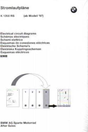 BMW K1200RS Electrical Circuit Diagrams   Bmw K1200rs Wiring Diagram      - Repair Manuals Online
