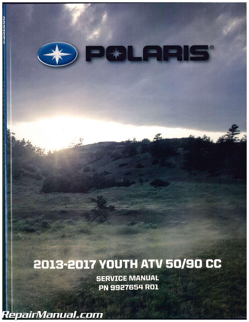 2013 2017 Polaris Youth 50 90 Atv Service Repair Manual Predator Fuel Filter