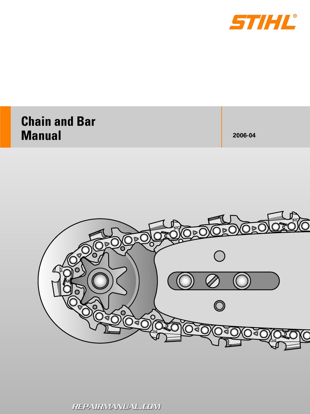 Stihl Chain and Bar Manual – Chainsaw