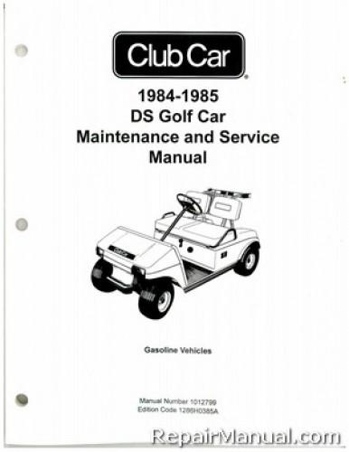 Club Car Ds Service Manual
