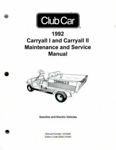 Club Car Xrt 950 Wiring Diagram : Club car carryall i and ii maintenance