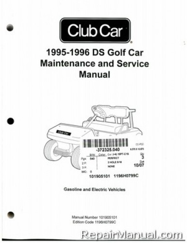 1995 club car service manual how to and user guide instructions u2022 rh taxibermuda co club car precedent user manual club car golf cart instruction manual