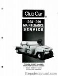 Official 1998-1999 Club CarTransportation Service Manual