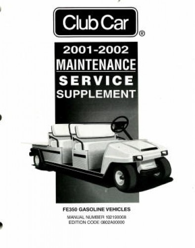 club car golf cart manual