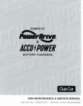 Official 2004 Club Car Domestic Power Drive And Accupower Battery Charger Service Manual