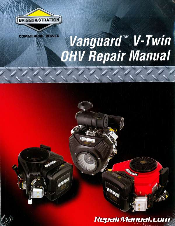 Club Car Briggs Stratton Vanguard Engine Maintenance And Service Manual