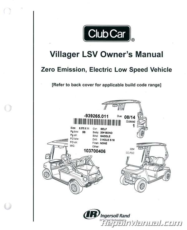 Club Car Manuals