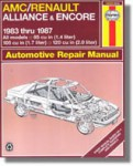Haynes American Motors Alliance Encore 1983-1987 Auto Repair Manual