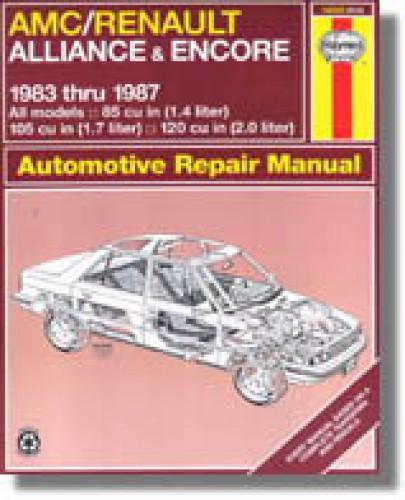 Used Haynes American Motors Alliance Encore 1983-1987 Auto Repair Manual