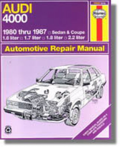 Haynes Audi 4000 1980-1987 Auto Repair Manual