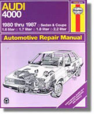 Used Haynes Audi 4000 1980-1987 Auto Repair Manual