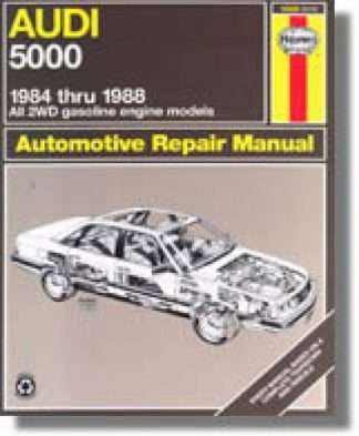 Haynes Audi 5000 1984-1988 Auto Repair Manual