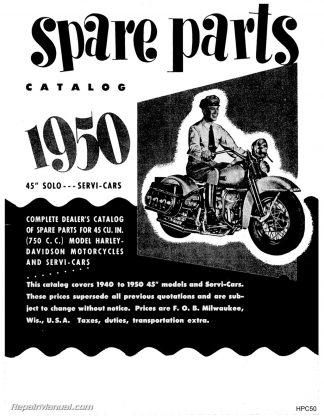 1940 1950 harley davidson 45 cubic inch 750cc solo servi car parts  you're viewing 1940 1950 harley davidson 45 cubic inch 750cc solo servi car parts manual $25 14 $16 95