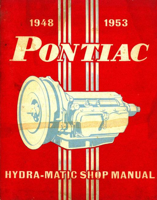 1953  PONTIAC OWNER/'S  MANUAL-6 /& 8 CYLINDER