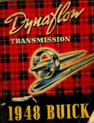 1948 Buick Dynaflow Transmission Service Manual