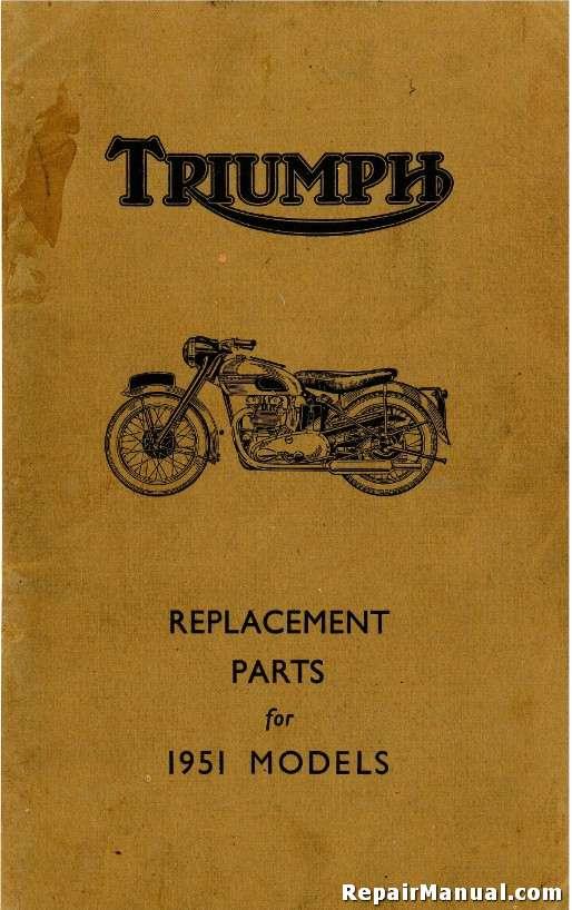 triumph motorcycle manuals