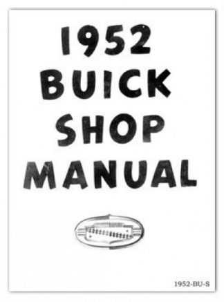 1952 Buick Factory Service Manual