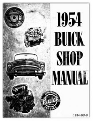 1954 Buick Automobile Service Manual