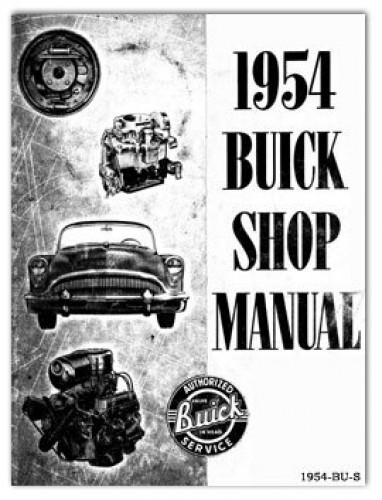 1954 buick automobile service manual rh repairmanual com 1955 Buick Special 1956 Buick Special
