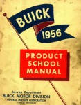 Used 1956 Buick Product School Manual