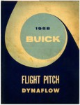 Used Official 1958 Buick Flight Pitch Dynaflow Transmision Service Manual