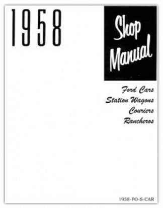 1958 Ford Car Service Manual