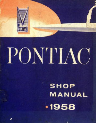Pontiac Chassis Shop Manual 1958 Used