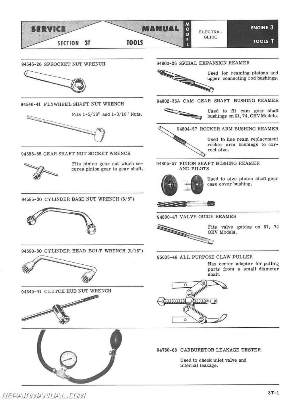 1959 1969 harley davidson electra glide duo glide motorcycle 1959 1969 harley davidson electra glide duo glide service manual page 2