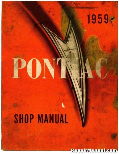 1959 Pontiac Factory Repair Service Manual