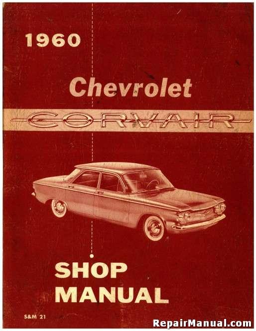 1960 Chevrolet Corvair Repair Service Manual