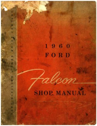 1960 Ford Falcon Shop Manual