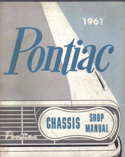Pontiac Chassis Shop Manual 1961 Used