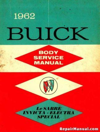 1962 Buick Body Service Manual