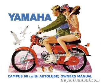 1964-1966 Yamaha YJ2 Campus Autolube Motorcycle Owners Manual