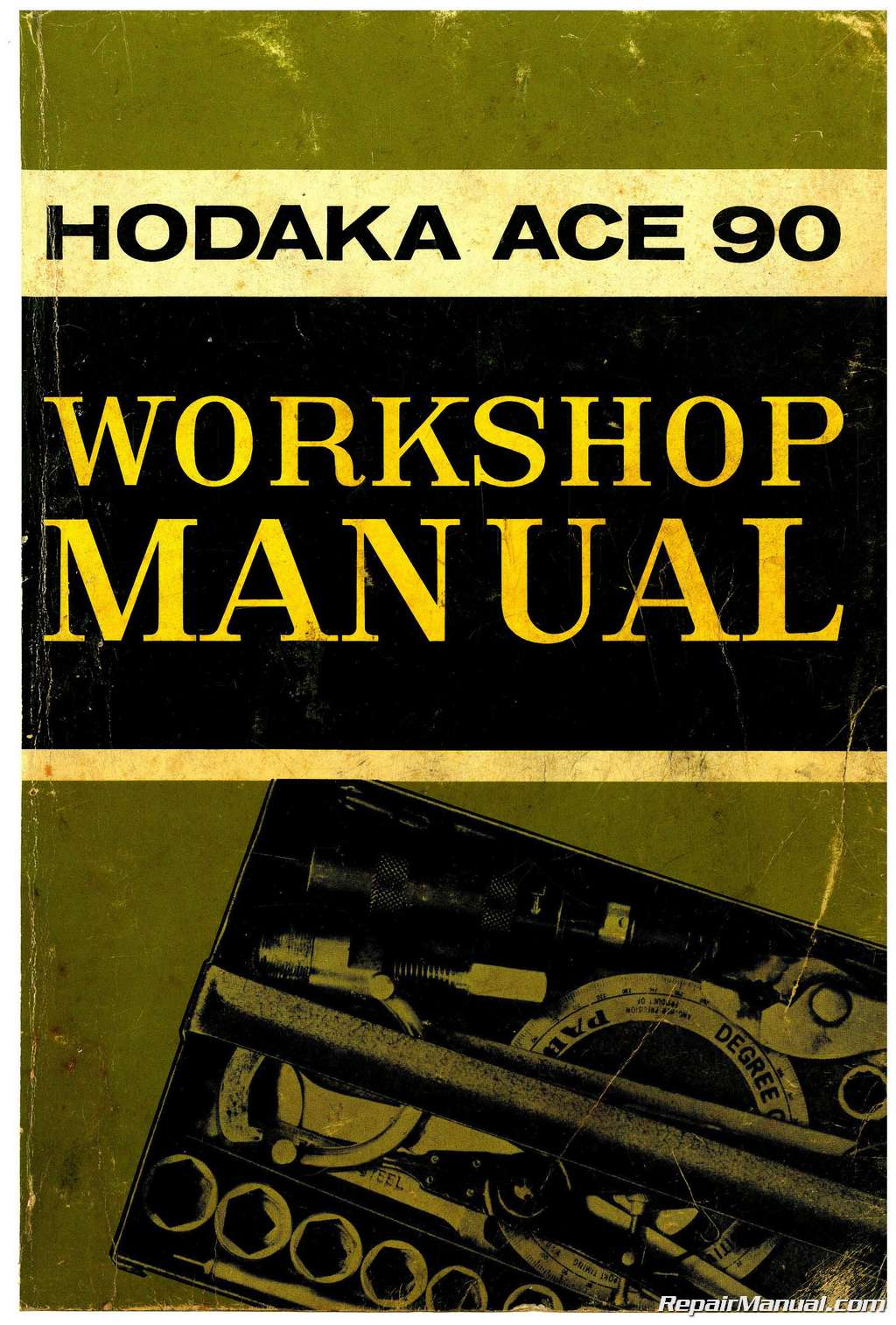 1964 1967 hodaka ace 90 service manual rh repairmanual com hodaka road toad wiring diagram