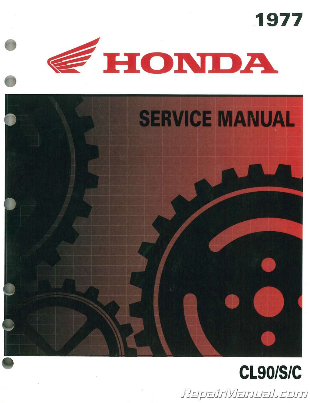 1964 1977 honda s90 cl90 c90 cd90 ct90 cl90l motorcycle service manual rh repairmanual com Honda S65 honda s90 service manual