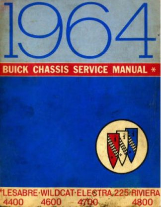 Buick Chassis Service Manual 1964