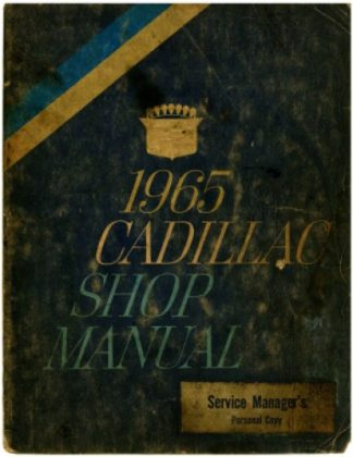 1965 Cadillac Workshop Manual