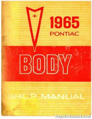 1965 Pontiac Body Shop Manual