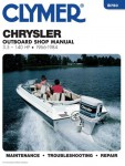 1966-1984 Chrysler 3.5 – 140 hp Outboard Engine Boat Service Manual by Clymer
