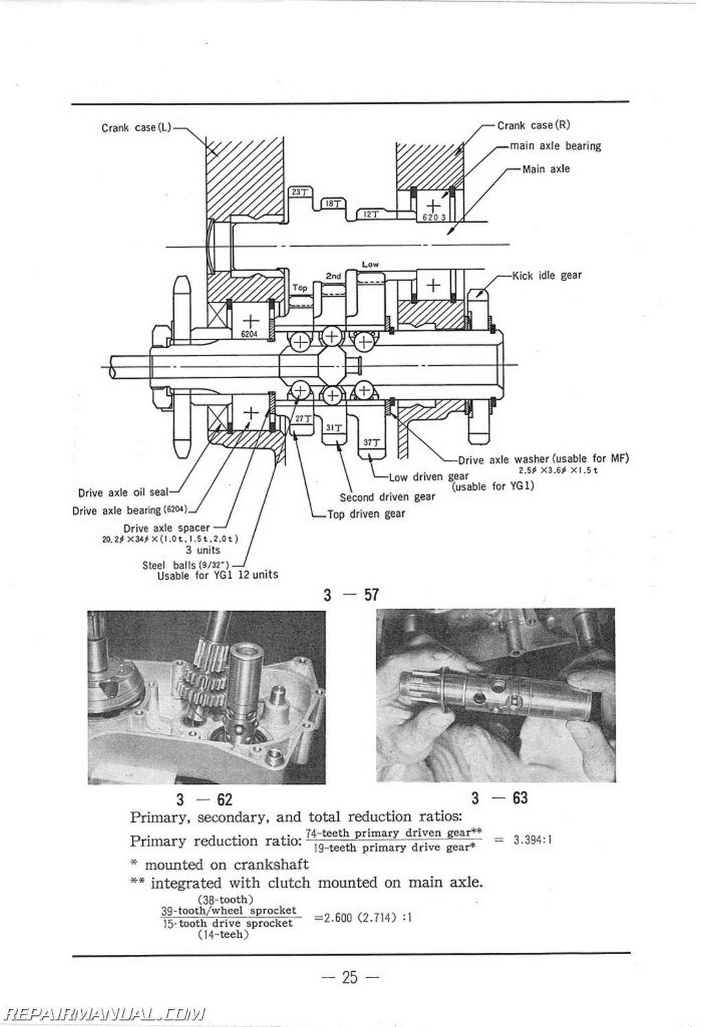 1966 Yamaha 50 Service Manual
